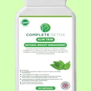 Complete Detox Slim Trim Weight Management Diet Supplement Fat Burning Slimming