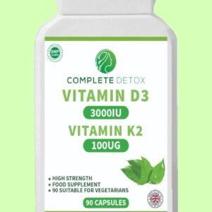 Vitamin D3 & K2 MK-7 Capsules